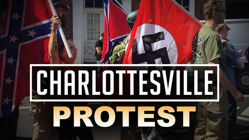Shocking video shows auto  slam into protesters at 'Unite the Right' rally