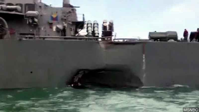 Pentagon Chief Confirms Navy Probe of Accidents