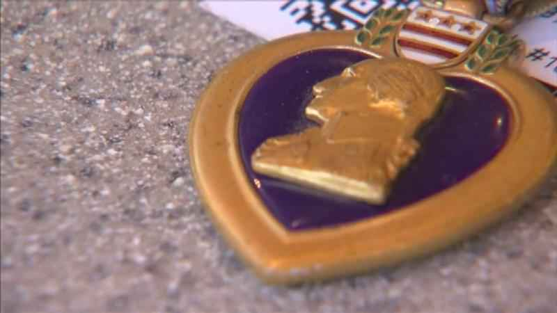 Veterans Recognized on Purple Heart Day