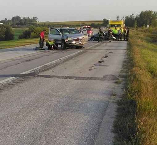 Serious Crash on Highway 52 Near Preston