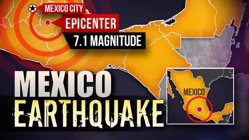 7.1 Earthquake Hits Mexico City, At Least 55 People Reported Dead