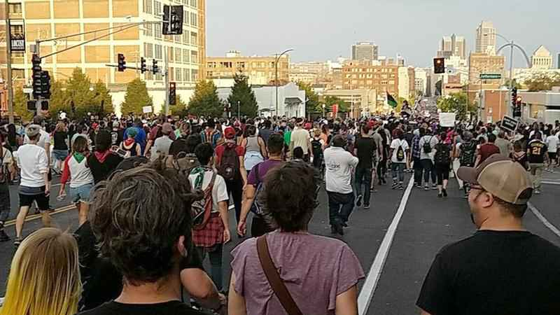 ACLU Sues St. Louis Over Treatment of Protestors