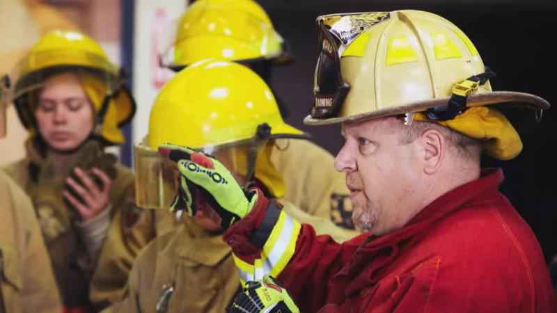 Pink Heals Surprises Long-Time Firefighter