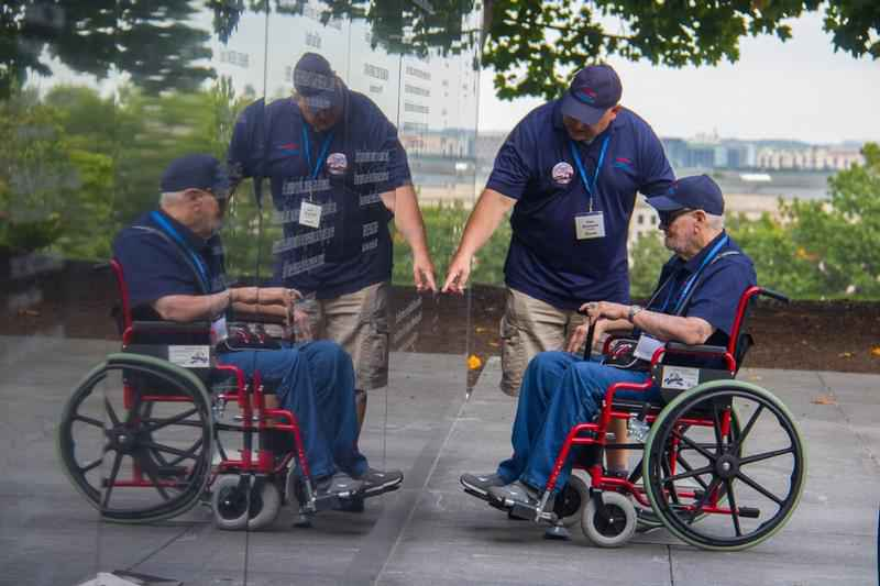 Several Local Veterans Take Freedom Honor Flight