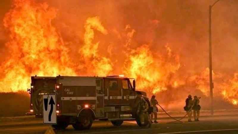 CA Wildfires Responsible for 21 Deaths