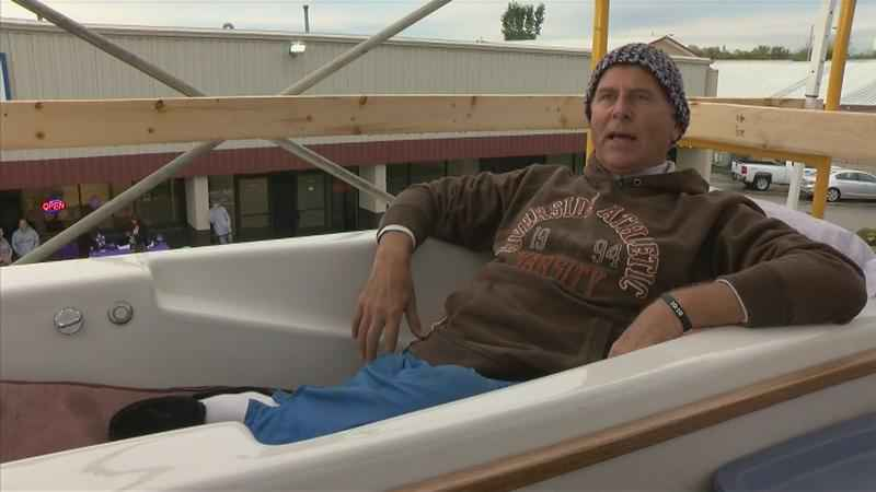 'Ron in a Tub' Raises Money for Women's Shelter