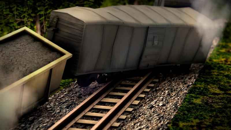 Train Derailment Sends Cars Into Buildings