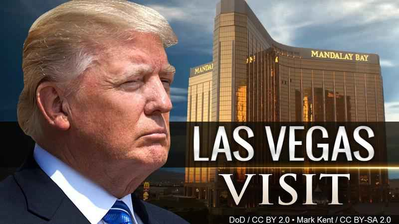President Trump says the Nation Stands with Las Vegas