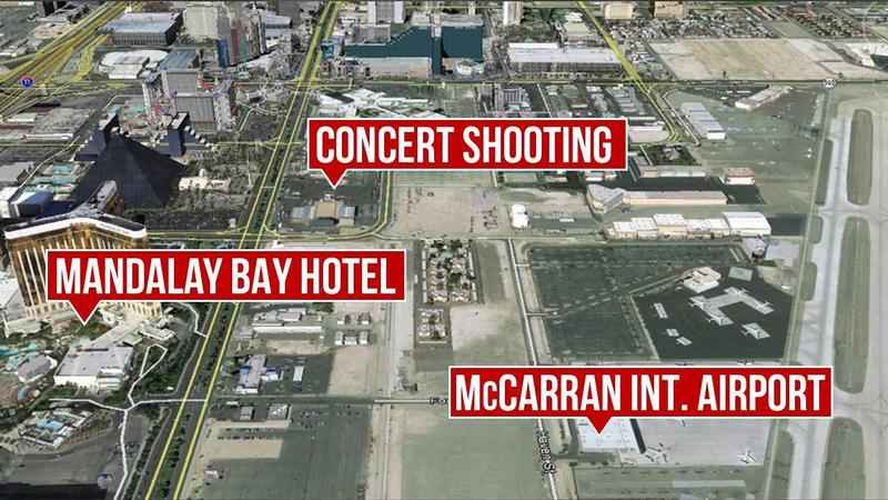 The Latest on the Las Vegas Shooting: Officials Update Number of Firearms Found