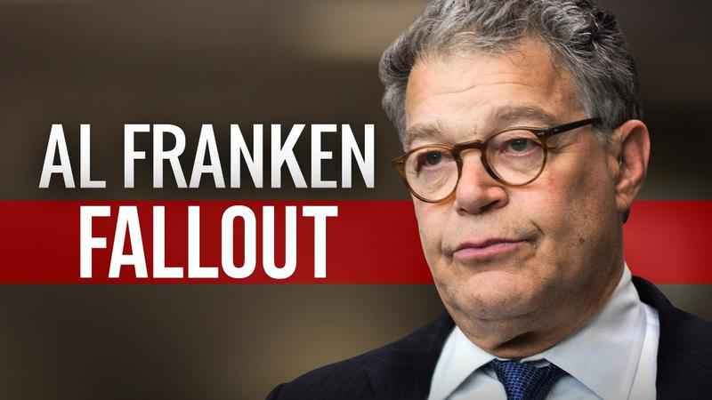 Sen. Franken Writes Letter to Woman Saying He's Ashamed