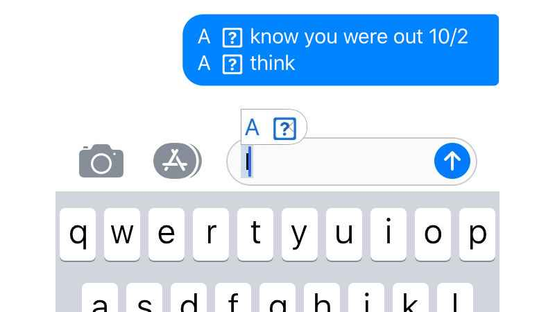 "Having An Issue With The Letter ""i"" On Your iPhone?"