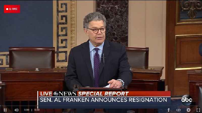 Sen. Al Franken Announces Resignation 'In Coming Weeks'