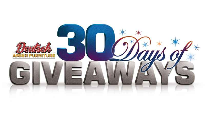 30 Days of Giveaways 2018 - List of Winners