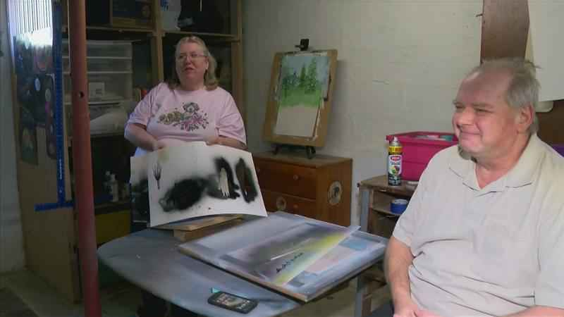 Rochester Couple Finds Healing in Art