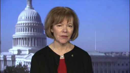Tina Smith Sworn In as US Senator