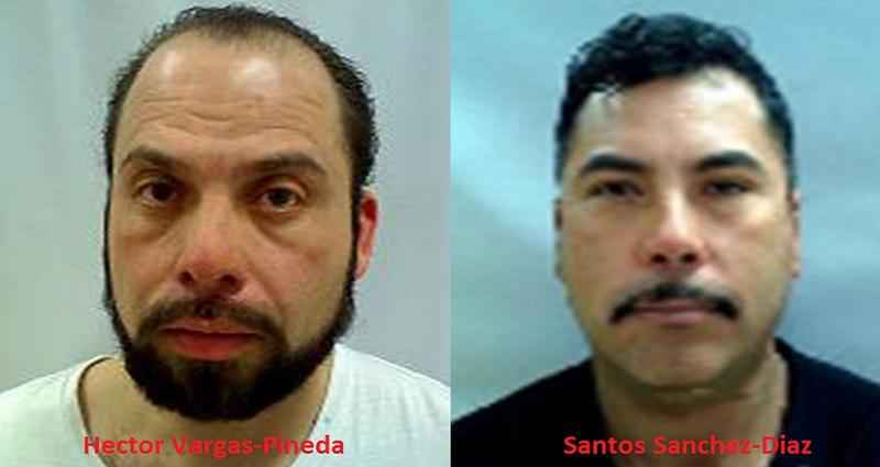 Two convicted sex offenders arrested by Del Rio Sector Border Patrol Agents