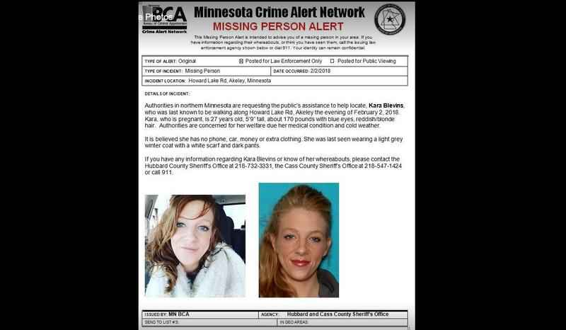 Body of Missing Minnesota Woman Found