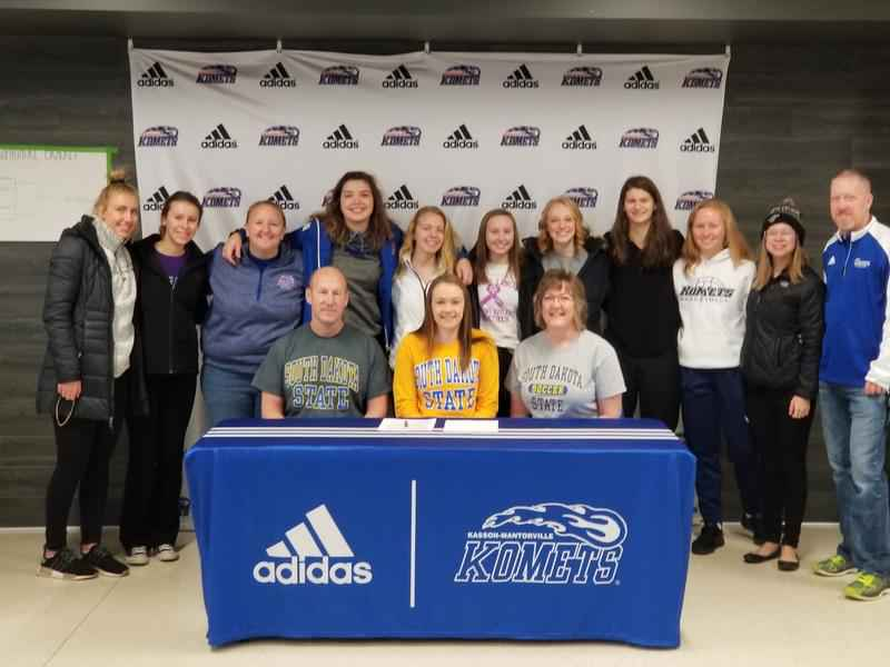 Kasson-Mantorville senior Makayla Griffin (soccer) signs with South Dakota State University