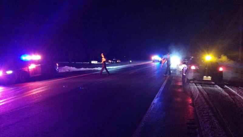 High Speed Chase Ends Up in a Crash Near Rose Creek