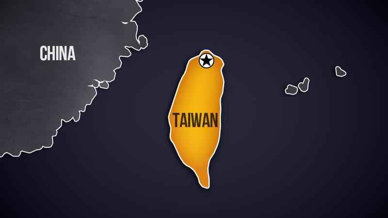 Earthquake Rattles East Coast of Taiwan