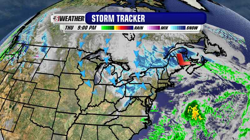 Nor'easter Adding to Our Cold