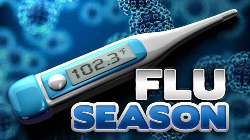 Reports say the flu season is winding down