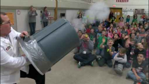 ABC 6 Weather Lab Visits Sibley Elementary