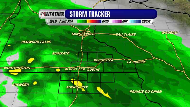 Wet weather returns late Sunday