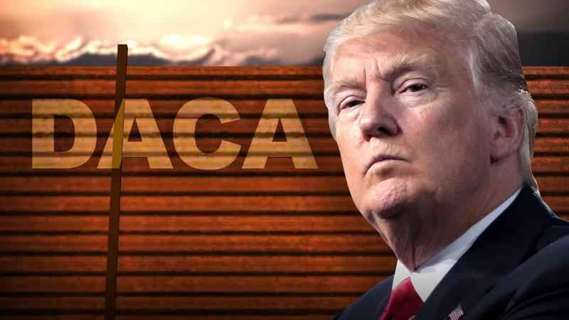 Trump announces 'NO MORE DACA DEAL,' rails against immigration laws