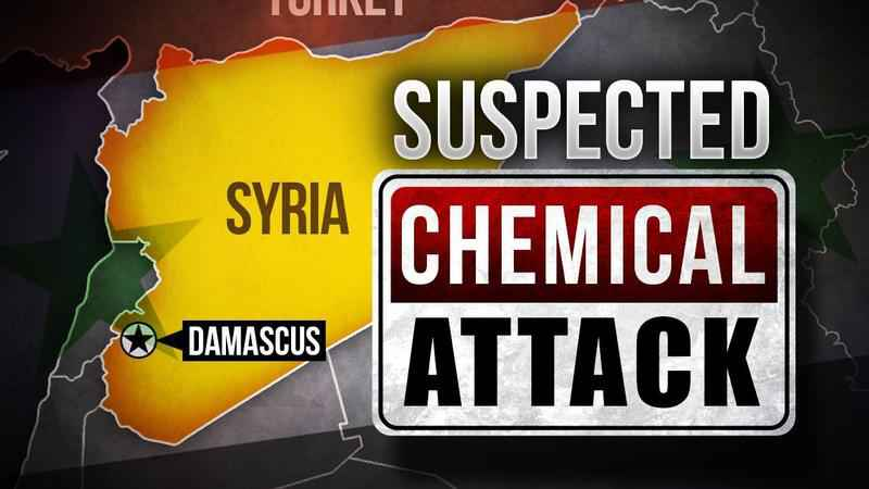 'Poison gas attack' in Syria probed