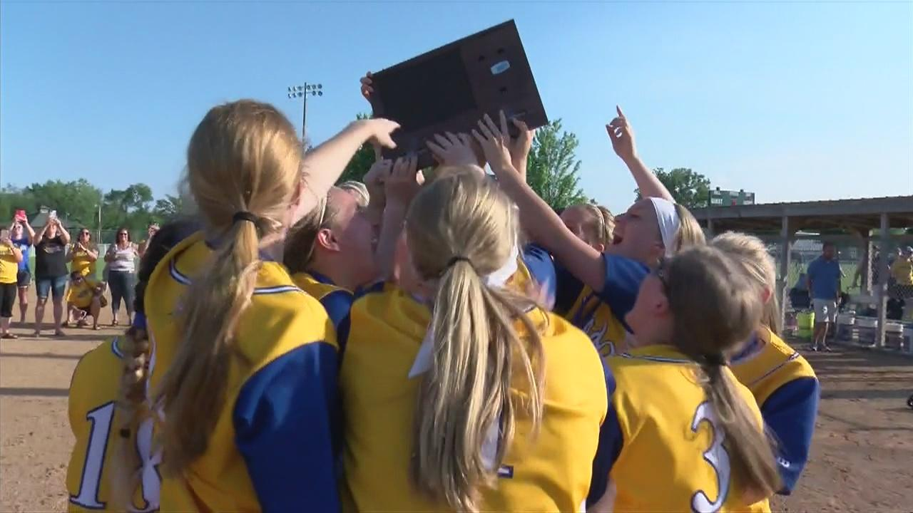 Hayfield Rolls to 4th Straight Section 1A Softball Title