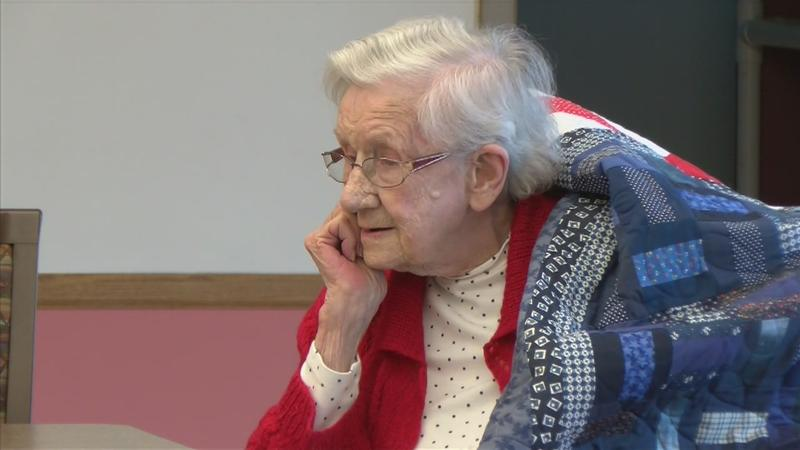 101-Year-Old Former U.S. Army Nurse Receives Quilt of Valor
