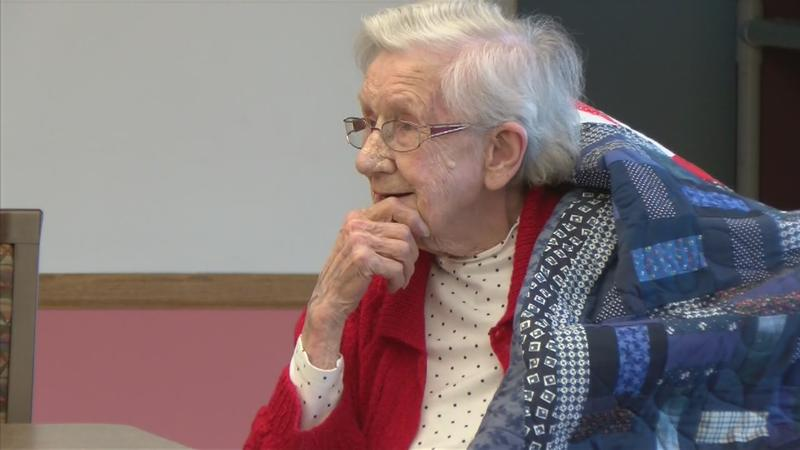 Blooming Prairie Woman Honored with Quilt of Valor