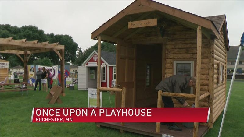 Need a Super Cool Playhouse? Buy a Raffle Ticket at Rochesterfest