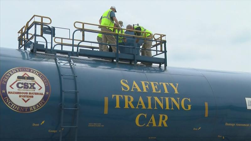 Railroad Workers Receive Hazmat Training