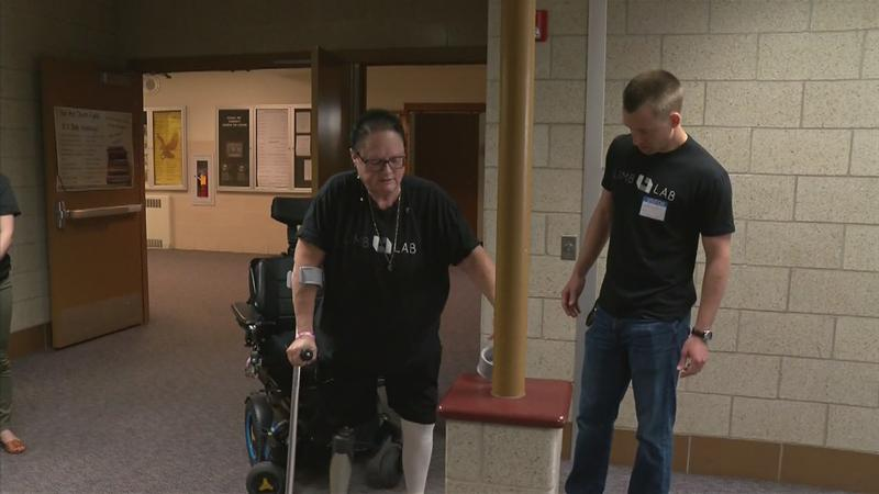 Standing Tall: Dover-Eyota Teacher Receives Life-Changing Prosthetic
