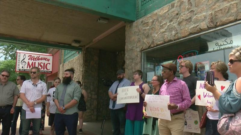 Two Vigils Held to Show Support for the Muslim Community in Rochester