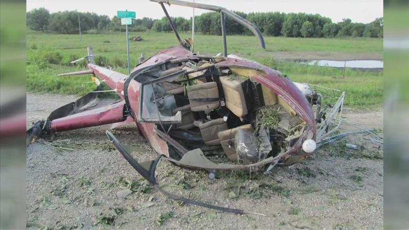 1 Injured in Helicopter Crash in Howard County