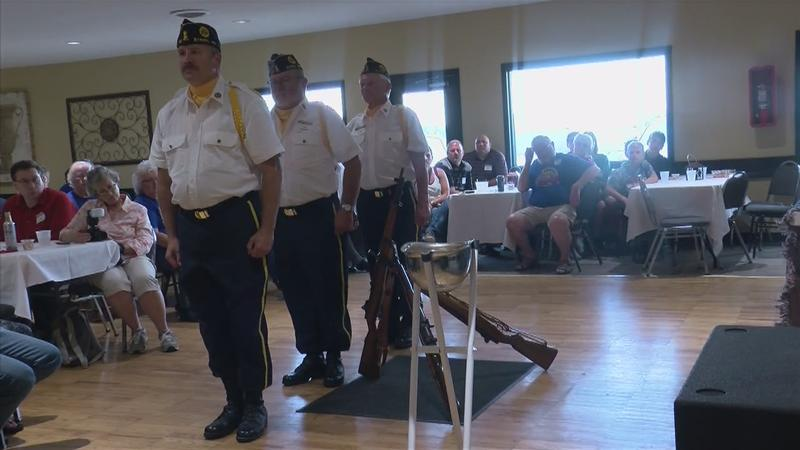 Byron American Legion Holds Post Everlasting Ceremony
