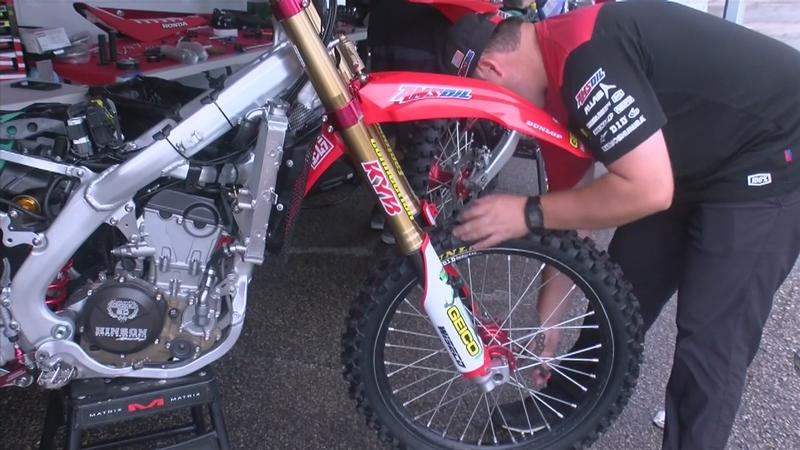 St. Charles Native works with Geico Honda Team in Preparation for Pro Race