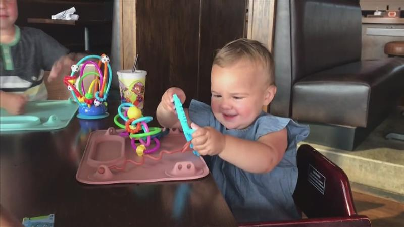 Local Mom's Invention Keeps Babies, Toddlers Busy