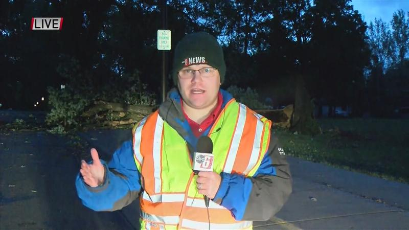 Jim Peterson takes us live in Owatonna