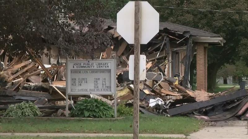 Joice Library & Community Center Destroyed by Fire