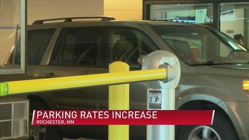 Rochester Parking Rate Changes Approved