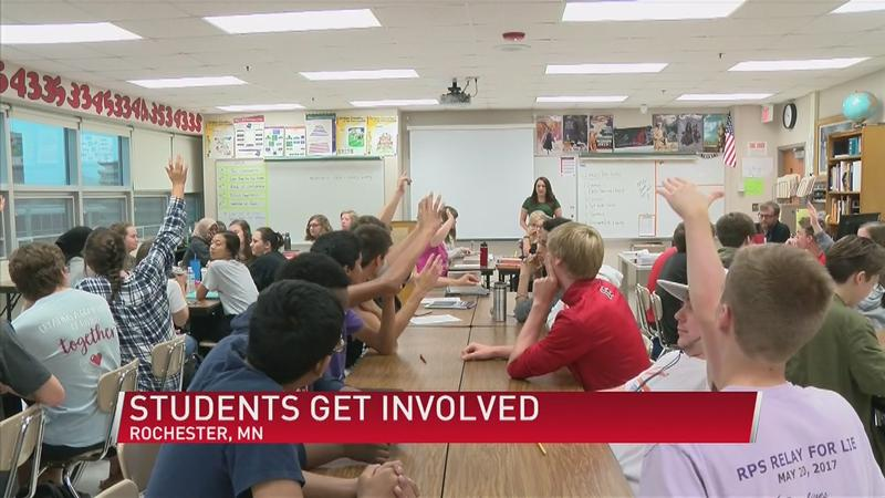 Rochester Students Make Their Political Voices Heard