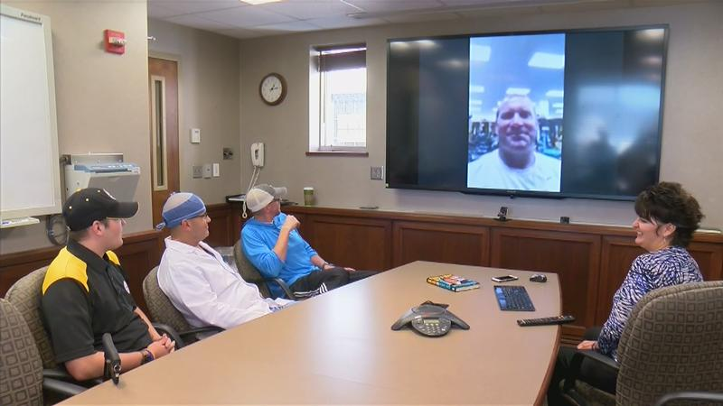 Steelers Player Surprises Mayo Clinic Doctor and Patient