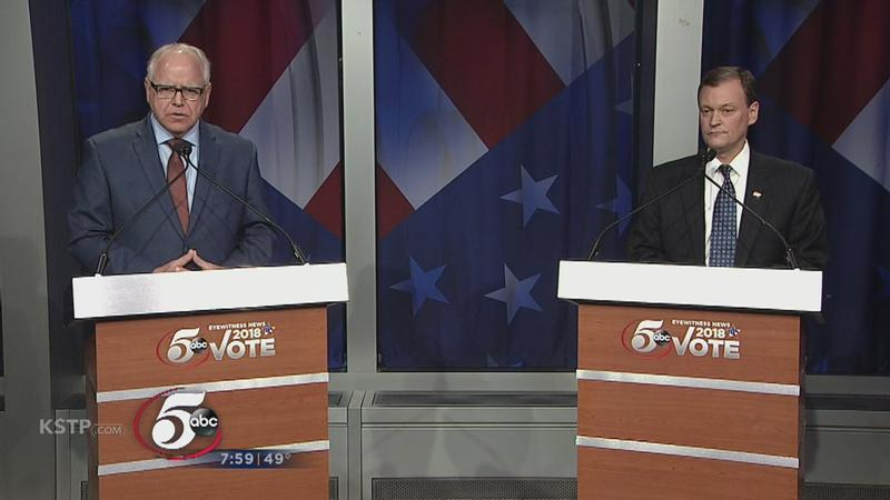 Gubernatorial Candidates Walz & Johnson Square Off in Heated Debate
