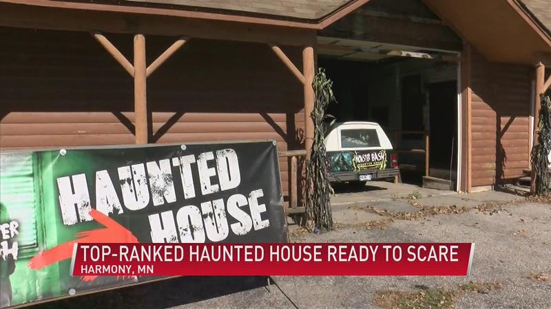 Harmony Haunted House Ready to Scare