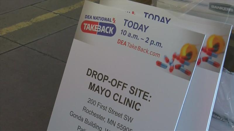Hundreds Get Rid of Unused or Expired Prescription Drugs