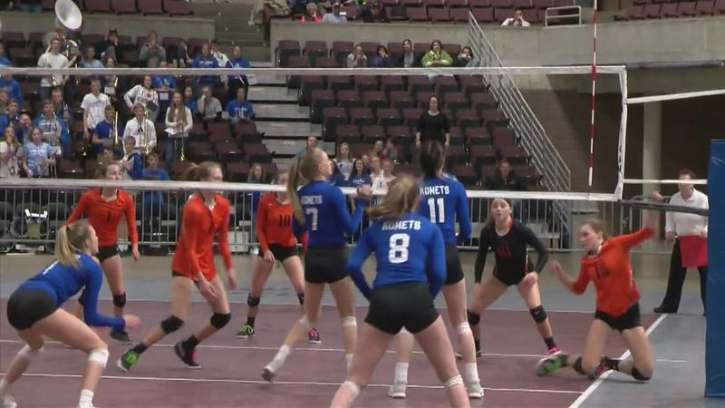 Komets Volleyball Earn No.1 Seed in State Tournament